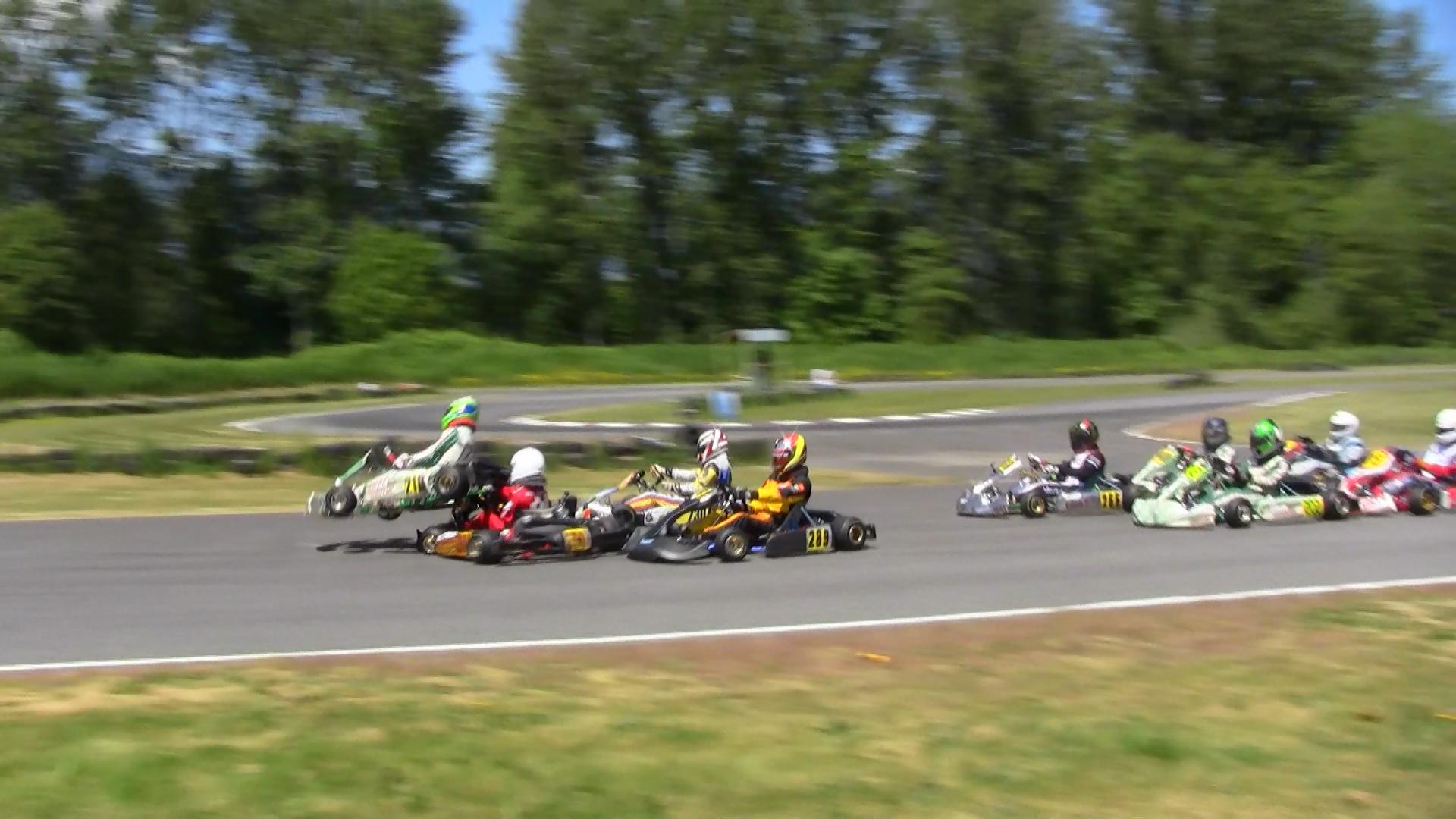 Edmonton Go Kart Racing